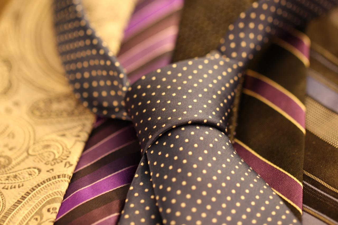 Krawattenpflege