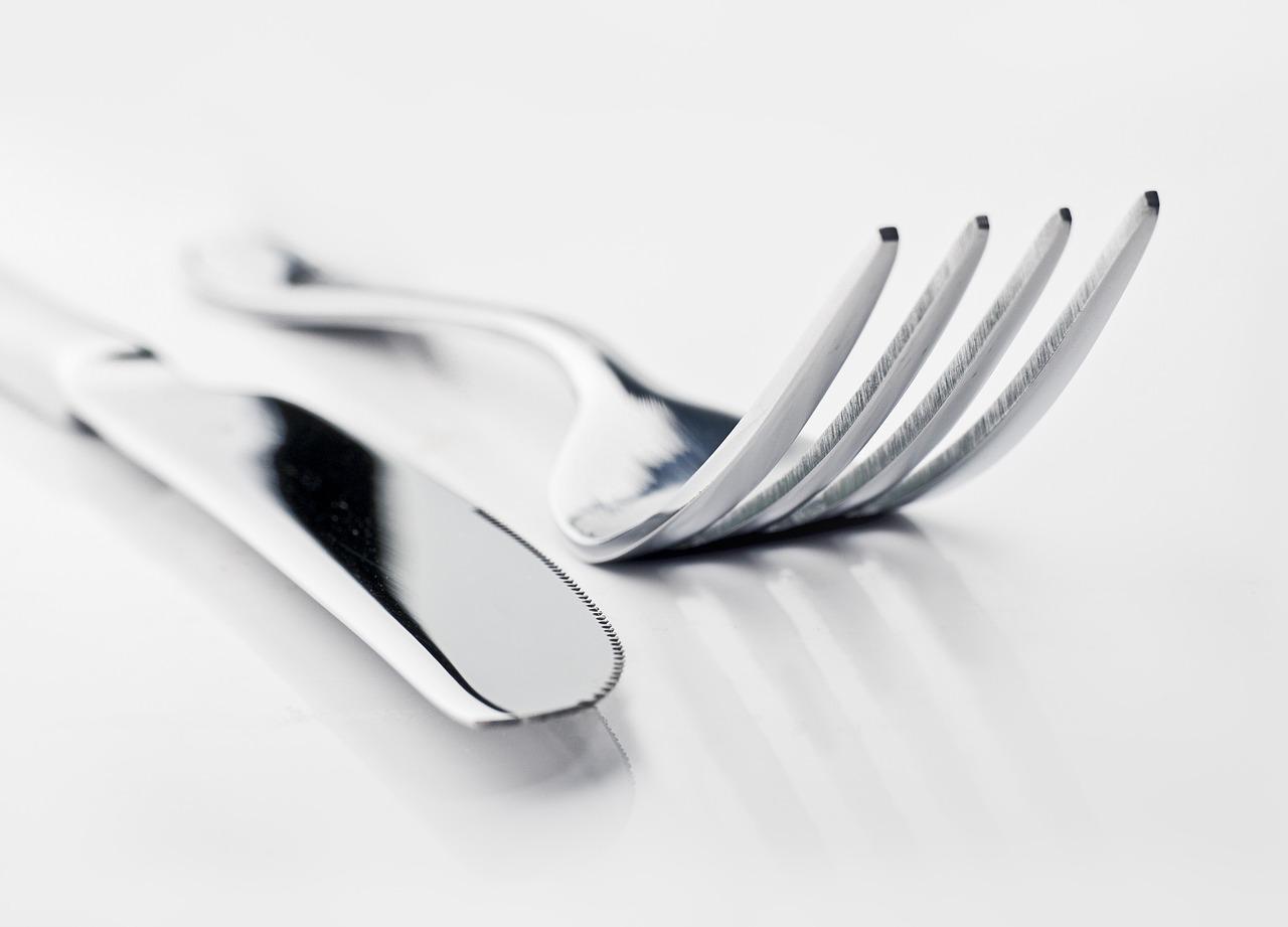 Tischmanieren Besteck