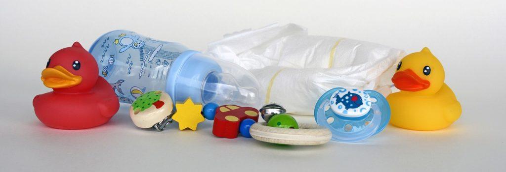 Keimfreie Babyflaschen