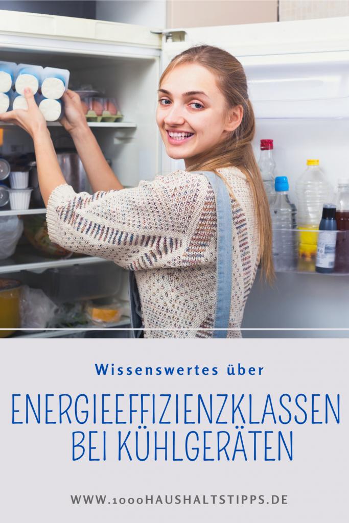 Energieeffizienzklasse bei Kühlgeräten