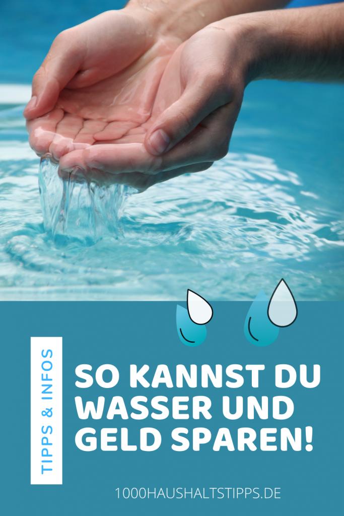 Wasserkosten senken, Wasser sparen