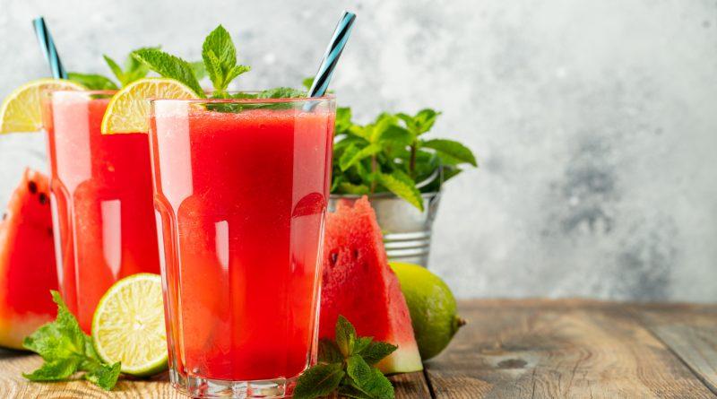 Slushy mit Melone