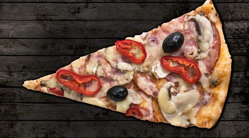 Pizza aufwärmen